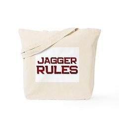 jagger rules Tote Bag