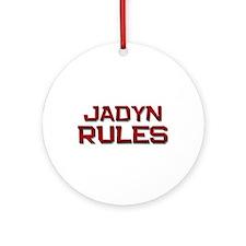 jadyn rules Ornament (Round)