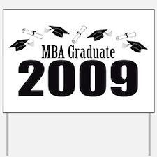 MBA Graduate 2009 (Black Caps And Diplomas) Yard S
