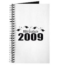 MBA Graduate 2009 (Black Caps And Diplomas) Journa