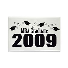 MBA Graduate 2009 (Black Caps And Diplomas) Rectan