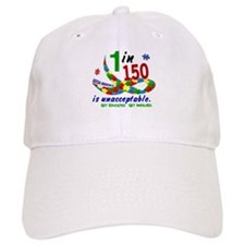 1 In 150 Is Too Many Baseball Cap
