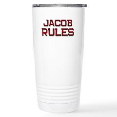 jacob rules Stainless Steel Travel Mug