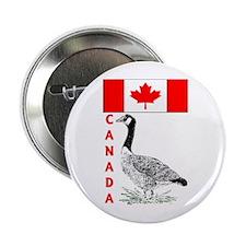 "Canadian Friends- 2.25"" Button"