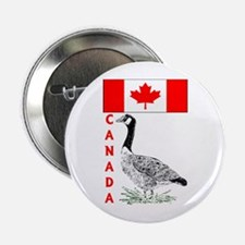 "Canadian Friends- 2.25"" Button"