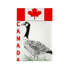 Canadian Friends- Rectangle Magnet (10 pack)