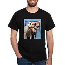 Roscoe & Jez Salute Black T-Shirt