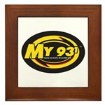 My 93.1 Framed Tile