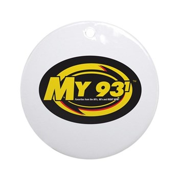My 93.1 Ornament (Round)