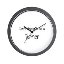 I'm training to be a Turner Wall Clock