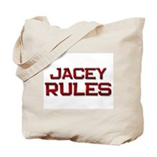 jacey rules Tote Bag