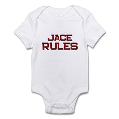 jace rules Infant Bodysuit