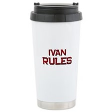 ivan rules Travel Coffee Mug