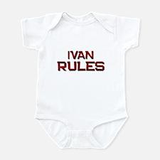 ivan rules Infant Bodysuit