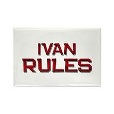 ivan rules Rectangle Magnet