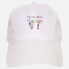 Crayons Preschool Teacher Baseball Baseball Cap