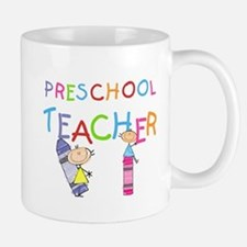 Crayons Preschool Teacher Mug