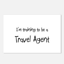 I'm training to be a Travel Agent Postcards (Packa