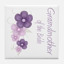 Grandmother of the Bride Tile Coaster