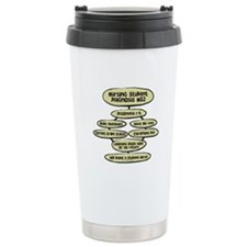 Student Nurse Diagnosis 52 Travel Mug