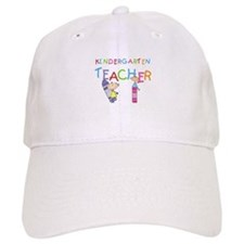 Crayons Kindergarten Teacher Baseball Cap