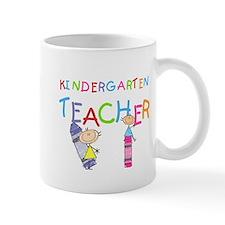 Crayons Kindergarten Teacher Mug