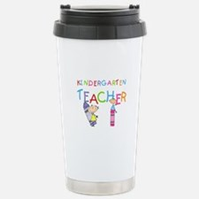 Crayons Kindergarten Teacher Stainless Steel Trave