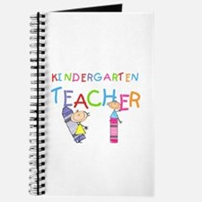 Crayons Kindergarten Teacher Journal