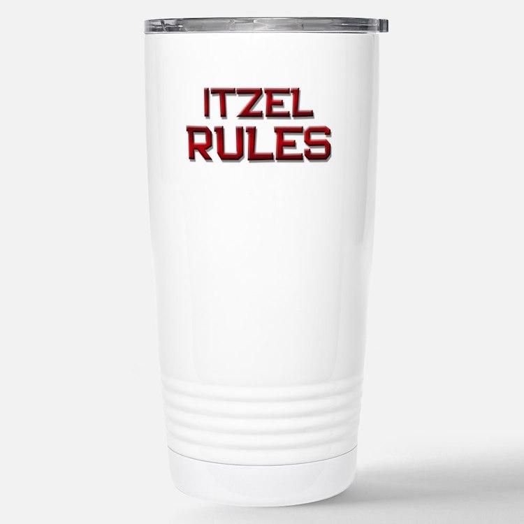 itzel rules Stainless Steel Travel Mug
