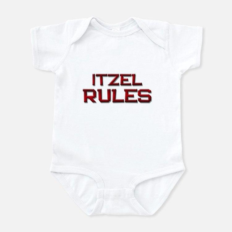 itzel rules Infant Bodysuit
