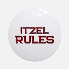 itzel rules Ornament (Round)