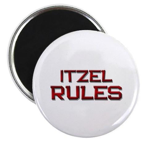 itzel rules Magnet