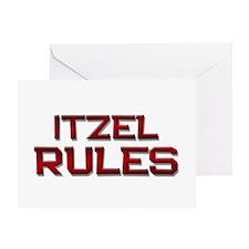 itzel rules Greeting Card