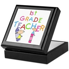 1st Grade Teacher Keepsake Box