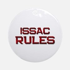 issac rules Ornament (Round)