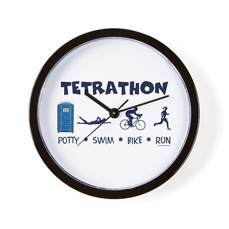 Women's Tetrathon Wall Clock