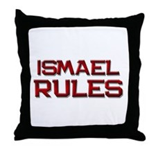 ismael rules Throw Pillow