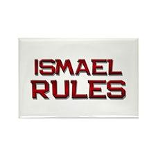 ismael rules Rectangle Magnet