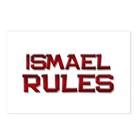 ismael rules Postcards (Package of 8)