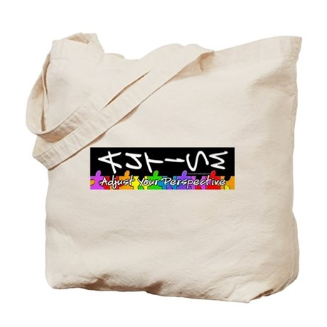 Adjust Your Perspective Tote Bag