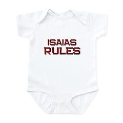 isaias rules Infant Bodysuit
