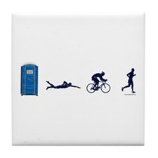 Men's PSBR Icons Tile Coaster
