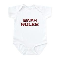 isaiah rules Infant Bodysuit