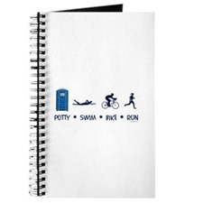 Women's Potty Swim Bike Run Journal