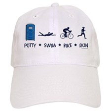 Women's Potty Swim Bike Run Hat