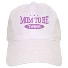 Mom To Be Twins Baseball Cap