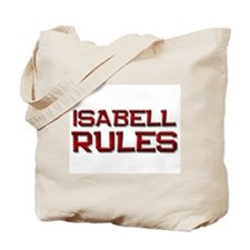isabell rules Tote Bag