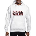isabel rules Hooded Sweatshirt