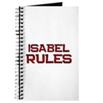 isabel rules Journal