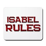 isabel rules Mousepad